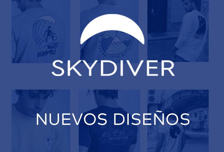 Nueva colección de camisetas SKYDIVER